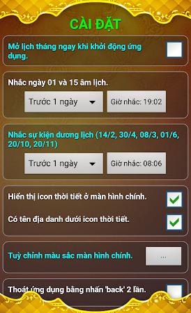 Lich Van Nien - Lịch VN 2016 7.5 screenshot 334427