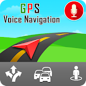 Live GPS, Voice Navigation & Driving Direction Map