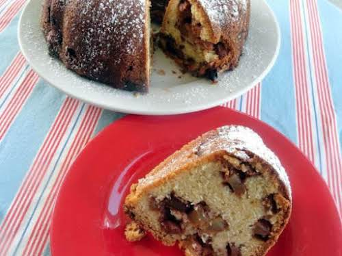 "Layered Fresh Apple Cake ""Enjoy this cake quickly... once everyone tries it,..."