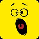 Fantastic Kawaii emoji sticker icon