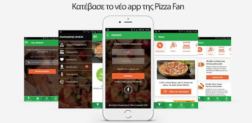 The App of your favorite Pizza Fan redesigned for greater enjoyment!