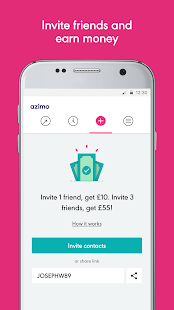 Azimo Money Transfer- screenshot thumbnail