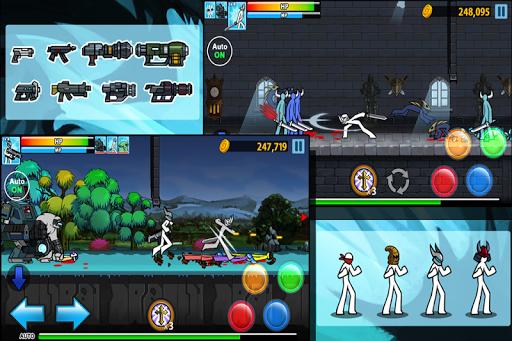 Anger Of Stick 4  APK MOD screenshots 3