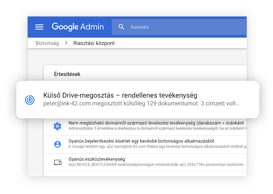 Gmail cégeknek