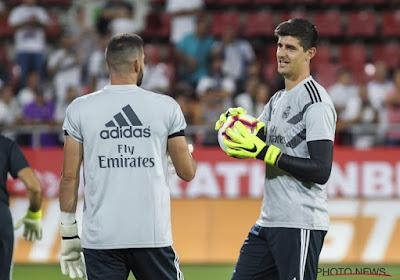 🎥 Thibaut Courtois réussit un joli geste technique à l'entraînement du Real Madrid