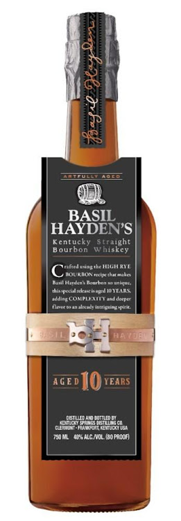 Logo for Basil Hayden 10 Year Old Bourbon