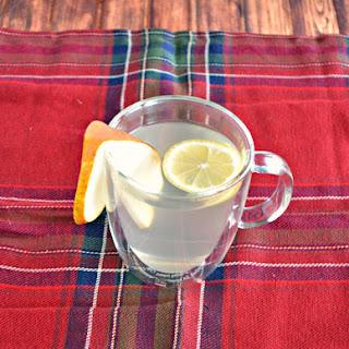 Pear Lemon Hot Toddy.