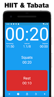Seconds - Interval Timer for HIIT & Tabata - Apps on Google Play