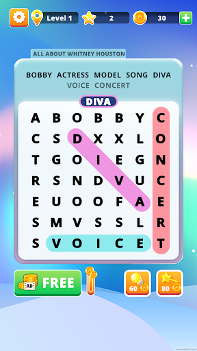 Word Search 2 - Hidden Words screenshot 5