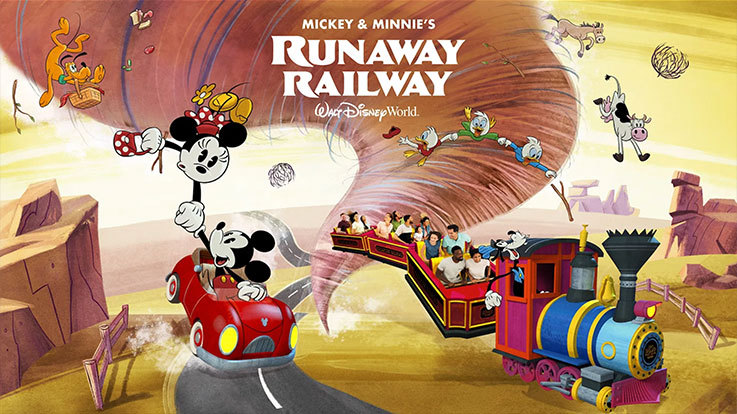 Mickey and Minnie's Runaway Railway poster
