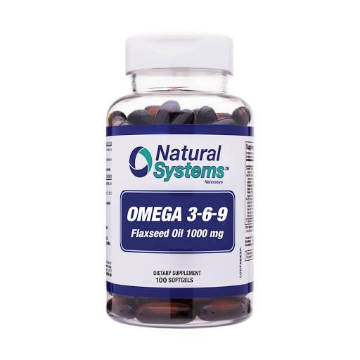 aceite de pescado omega 369 1000mg 100capsulas blandas natural system