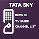 Download Free Tata Sky Remote | Channel list | Epg Guide For PC Windows and Mac