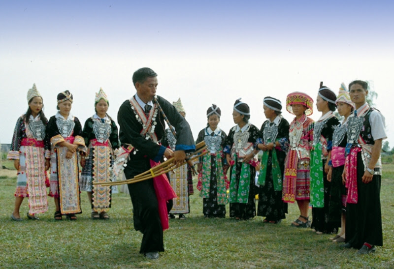 Hmong New Year in Oudomxay, Xieng Khouang, Luang Prabang and Vientiane Province (between mid December until January)