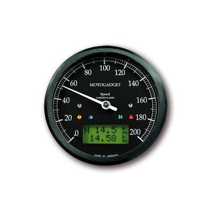 Chronoclassic Svart Hastighetmätare