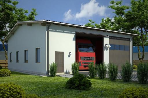 Projekty Garaży Dla Tira Lub Samochodu Ciężarowego Toobapl