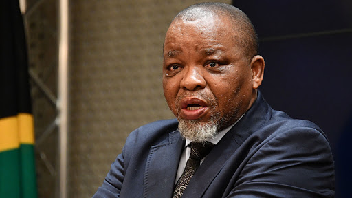 Gwede Mantashe, minister of mineral resources and energy.