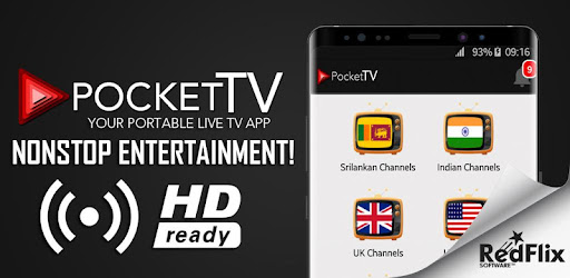 Pocket TV app (apk) free download for Android/PC/Windows
