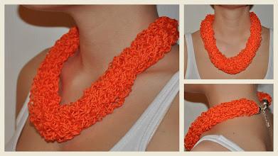 Photo: Tolle Kette in orange