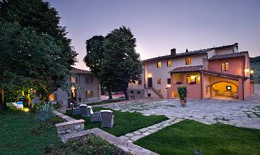 Photo: Borgo I Vicelli at dusk