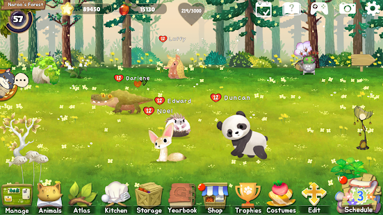 Animal Forest : Fuzzy Seasons (Start Pack Edition) Screenshot