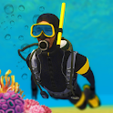 Scuba Diving Swimming Simulator Treasure Hunting icon