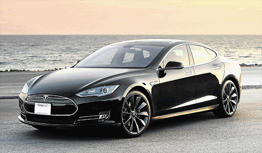 A high-performance version of the standard Tesla Model S that was involved in the accident