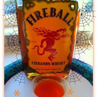 Fireball Whiskey Jello Shots.