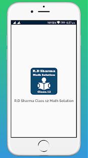 RD Sharma Class 12 Math Solution - náhled