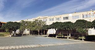 Fachada exterior de la Escuela Superior de Ingeniería.