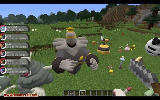 pixelmon mod for minecraft pe