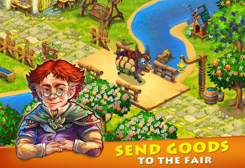 Farmdale - farm village simulator Screenshot 8