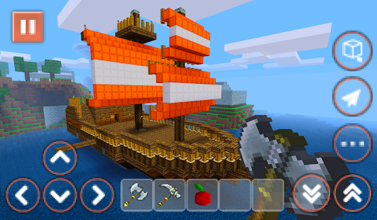 Pirate Craft Ship Building Android Apps On Google Play - Cruise ship building games