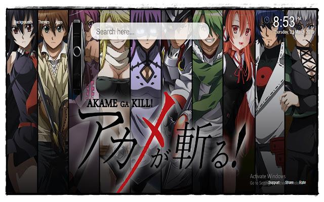 Akame Ga Kill Backgrounds New Taฺb