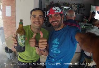 """Photo: """"Las pequeñas victorias"""". Ruta Vía Verde Mula>Caravaca (47Km)"""