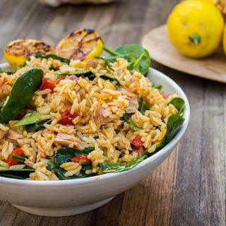 Tuna And Spiced Rice.