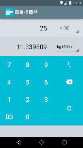 重量換算器