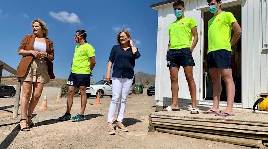 Níjar refuerza el servicio de socorrismo en sus playas
