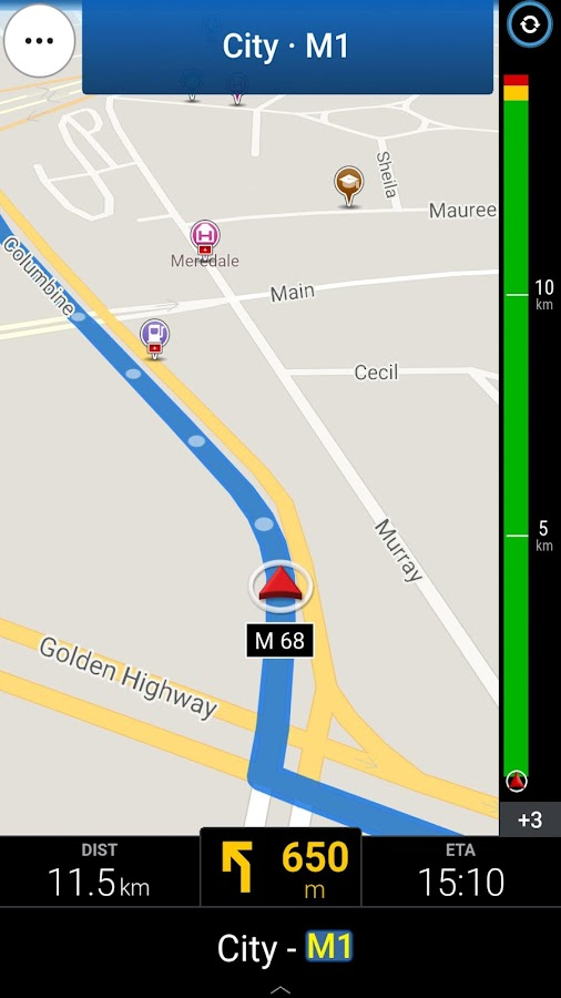 CoPilot South Africa GPS- screenshot