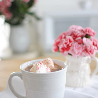 Hot Chocolate with Peppermint Marshmallows.