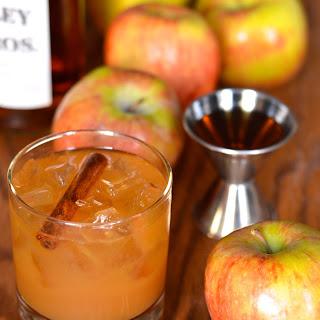 Spiced Apple Cider Bundt Cake with Buttered Bourbon Glaze