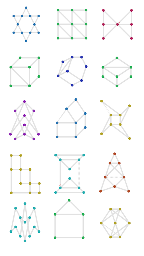 1LINE - one-stroke puzzle game- screenshot
