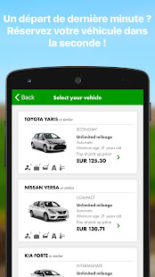 europcar location de voiture applications sur google play. Black Bedroom Furniture Sets. Home Design Ideas