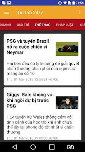 Download free Tin tức 24/7 for PC on Windows and Mac apk screenshot 4