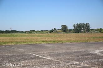Photo: Vel fremme på Peenemünde Flugplatz (EDCP), som var en viktig flyplass for Luftwaffe under 2. verdenskrig.