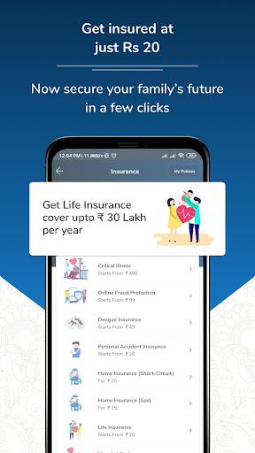 Recharge, Bill Payment,Instant Loan, UPI,Insurance screenshot 3