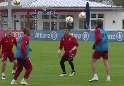 L'impressionnant échauffement des joueurs du Bayern