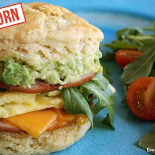 Einkorn Biscuit Breakfast Sandwich