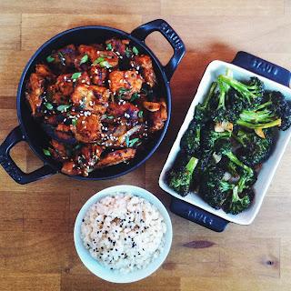 Gochujang Tempeh & Blasted Broccoli Recipe