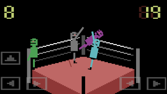 Wrassling - Wacky Wrestling- screenshot thumbnail