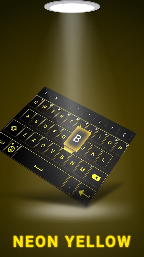 Emoji Smart Neon keyboard- screenshot